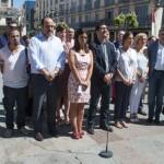Un minuto de silencio por el atentado de Niza
