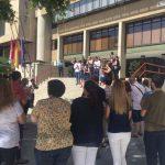 El Ayuntamiento de Puertollano guarda un minuto de silencio por el atentado de Niza