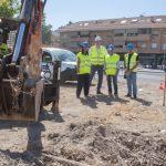 Comienzan las obras para la mejora del abastecimiento de agua de Valverde
