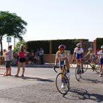 María García-Consuegra y Claudia Martínez lideran al ciclismo daimieleño en el trofeo 'José Antonio Pecharromán'