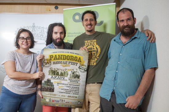 presentacion II pandorga reggae fest 1