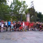 Cincuenta patinadores recorren las calles de Ciudad Real