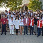 Zamora agradece a los jóvenes de Cruz Roja Castilla-La Mancha que se formen en valores sólidos para ayudar