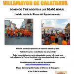 Villamayor de Calatrava se prepara para la celebración este domingo de su V Milla