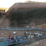 Cerca de 500 visitantes acudieron este sábado a las visitas guiadas y concierto en el Volcán de Cerro Gordo