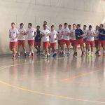 Los jugadores del FSD Puertollano inician la preparación con sesiones de entrenamiento de mucha intensidad