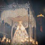 El Ayuntamiento probará un antiadherente contra la cera durante la procesión extraordinaria de la Virgen del Prado