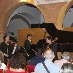 Luís Ángel de Benito presenta al Trío Arbós en el Festival de Música Clásica de Villanueva de los Infantes