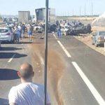 Dos muertos y 23 heridos tras un accidente múltiple en la A-4 a la altura de Manzanares