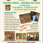 Aproca organiza un nuevo curso de guarda rural y de caza