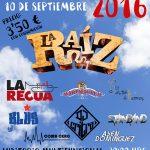 La Raíz será cabeza de cartel del 'Muxismo Rock 2016'