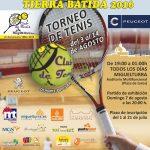 Miguelturra acoge del 3 al 14 de agosto la octava edicción de su Open de Tenis de Tierra Batida