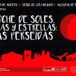 El Ayuntamiento ofrece la actividad 'Noche de soles, lunas y estrellas' para contemplar las Perseidas