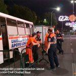 Tres personas necesitaron ser trasladadas al Hospital durante el sábado de Feria