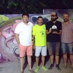 Malakkai se alzó con el premio del I Concurso Nacional de Grafitis de Villamayor de Calatrava