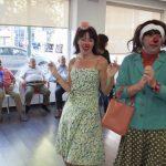 Guateque clown en el Centro de Mayores de la calle Alarcos