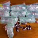 La Guardia Civil incauta más de 3 kilos de hachís en la autovía de Andalucía
