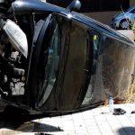 Ciudad Real: Trasladada a Urgencias tras el vuelco de un vehículo en la carretera de Puertollano