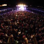 La Plaza de Toros de Almadén registra aforo completo en el concierto de Medina Azahara