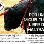 Miguelturra Contra la Tauromaquia convoca una manifestación hasta la Plaza de Toros