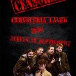 Concierto de Censored en Lager