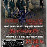 Desert Dragon abre la nueva temporada de conciertos en la Sala Nana