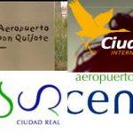 Los logos del Aeropuerto de Ciudad Real: Del ensueño quijotesco a la paradoja de la grulla rampante