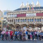 Escolares disfrutan de una ruta en bici por Ciudad Real
