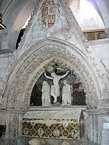 Sepulcro de don Fernando de la Cerda en Las Huelgas, Burgos (Wikipedia)