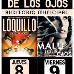 Malú y Loquillo, gran apuesta de las Fiestas de Villarrubia de los Ojos del 7 al 12 de septiembre