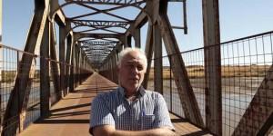 El autor, en el Puente de Hierro de Peralbillo