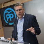 """El PP lamenta que la actitud """"negligente"""" de Zamora obligue a desembolsar miles de euros en el caso de los trabajadores de CRTV"""