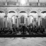 La AMC Banda de Música de Puertollano pone en pie al público del Alcázar de Toledo