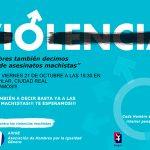 """Convocan una """"rueda de hombres"""" contra la violencia machista para este viernes en la Plaza del Pilar"""