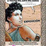 La UCLM participa en Manchacómic con la exposición 'Las mujeres de Roma a través del cómic'