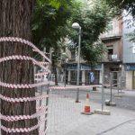 Ciudad Real: Comienza la demolición del edificio del Bar Los Molinos en la calle Bernardo Mulleras