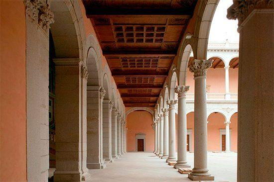 Galerías del Patio del Alcázar de Toledo