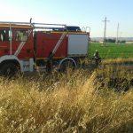 Ciudad Real: Los bomberos actúan en dos pequeños incendios de pastos y rastrojos