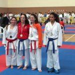 Patricia Maldonado, campeona regional de karate en categoría cadete -54 kilos