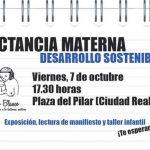 Ciudad Real: Oro Blanco celebra la Semana Mundial de la Lactancia Materna con una exposición y un taller infantil