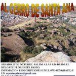 Puertollano: La Asociación Portus Planus organiza una ruta por el cerro de Santa Ana