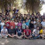 El Grupo Scout Siles comenzó el sábado su acampada de inauguración