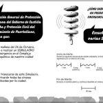 Simulacro de emergencia en la mañana del 26 de octubre en Puertollano