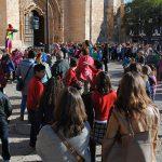 Más de 300 escolares celebraron en la Plaza de España el Día Internacional de los Derechos del Niño