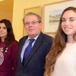 La nueva delegada de Estudiantes traslada al rector el apoyo a la demanda de una financiación «suficiente» para la UCLM