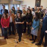 """La Corporación apela a la """"sensibilidad"""" y pide al Ministerio de Justicia que indulte a los vecinos de La Pedregosa"""