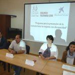 Puertollano: La Caixa impulsa la prevención de la violencia entre mujeres discapacitadas