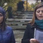 Podemos e Izquierda Unida se concentran en Puertollano contra la violencia machista
