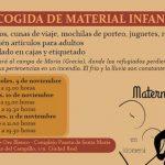 Maternando Ciudad Real en Idomeni recoge material infantil para los refugiados de Grecia
