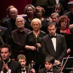 Mayores y enfermos de Alzheimer celebran Santa Cecilia interpretando a Mozart junto a la OFMAN
